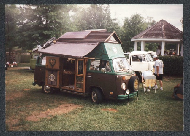 VW Bus seen at a VW show in 1996