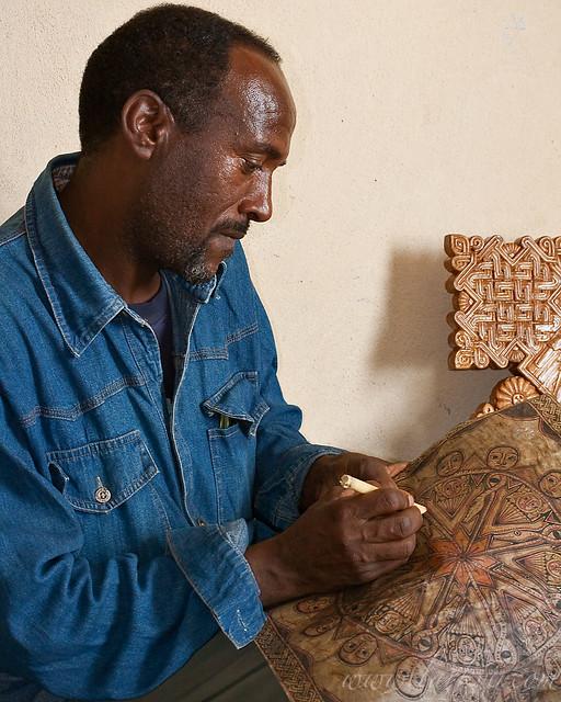 Keshi Mengistu Eyesus, Mek'ele, Tigray, April 2009