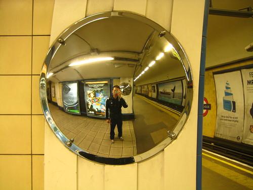 Self-Portrait in the Underground