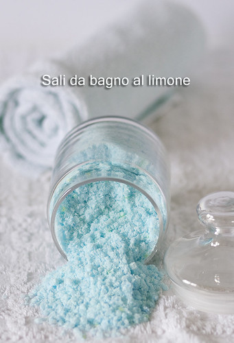 Erborina in cucina ricette sali da bagno al limone - Sali da bagno profumati ...