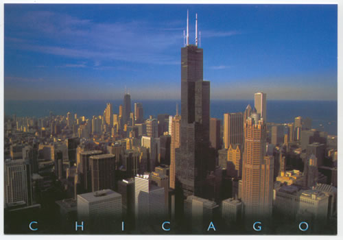 Chicago Sears Tower In Evening Light Flickr Photo Sharing