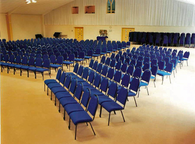 Yeovil Community Church - Metal Stacking Waterfall Conference Chair