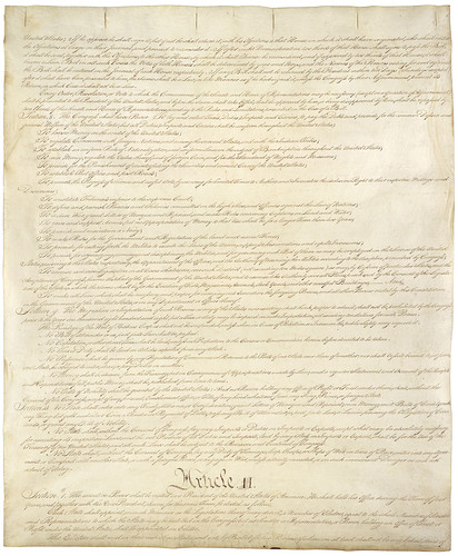 Constitution of the United States of America page …