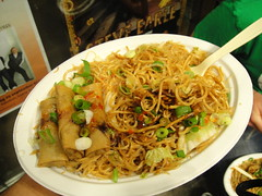 Festival food after concert