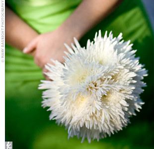 White Spider Mum Bouquet The Studio At Cactus Flower Flickr