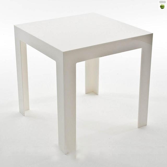 Petite table basse blanche conceptions de maison - Petite table basse blanche ...