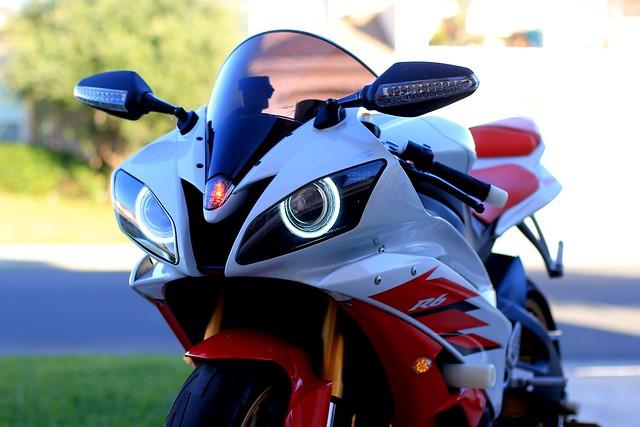 What Size Angel Eyes  Yamaha R