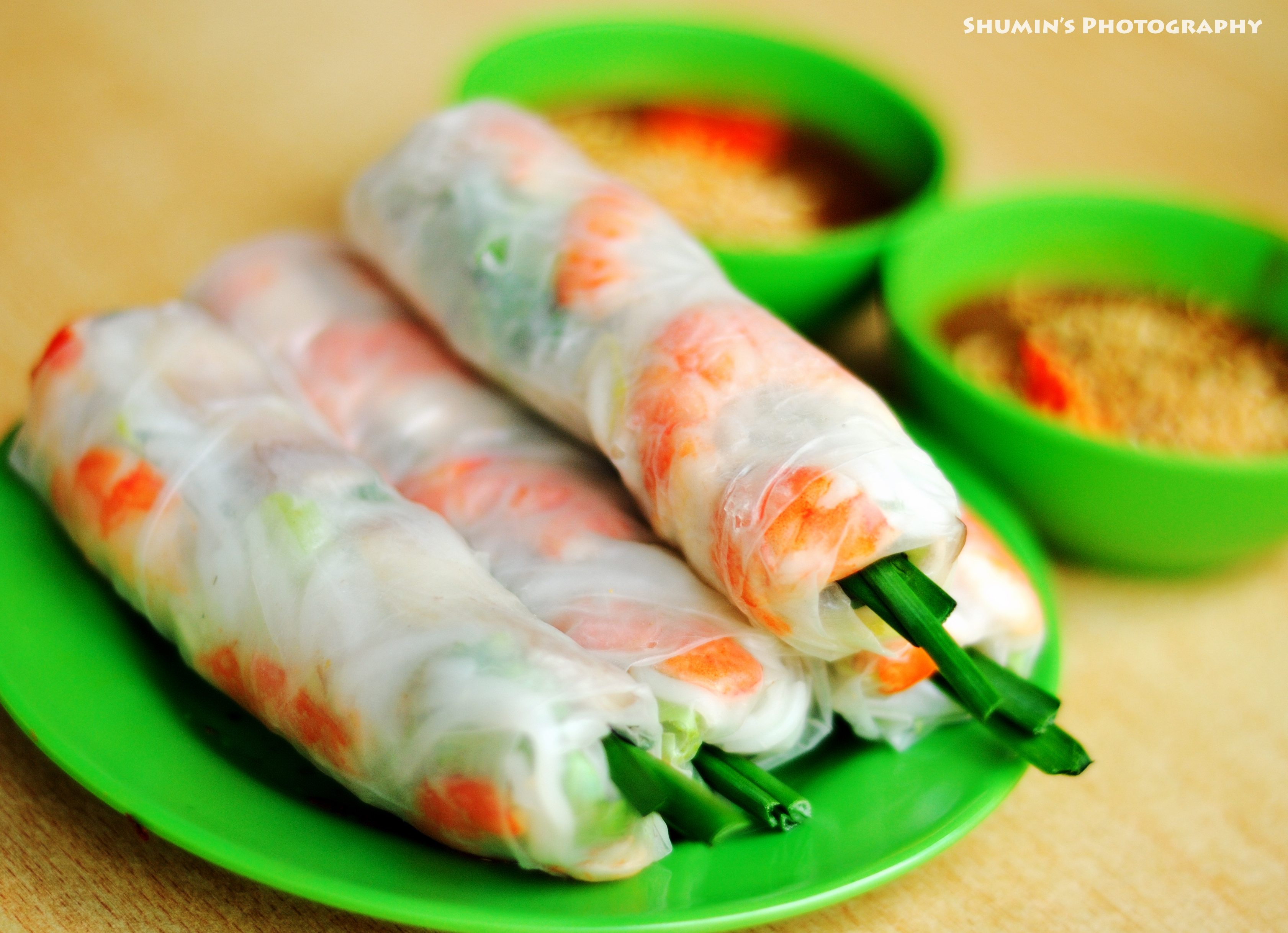 Goi cuon (fresh spring rolls) - Hoi An Food Tour