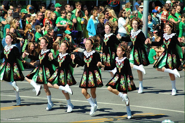 Irish Step-Dancers - St Patrick's Day Parade, KC