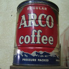 ARCO Coffee Tin