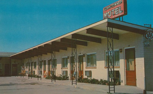 Wish You Were Hear Down Towner Motel Deer Lodge Montana