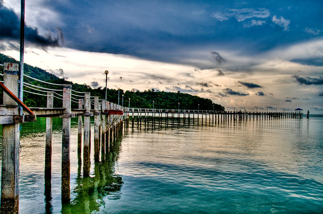 Penang National Park in HDR