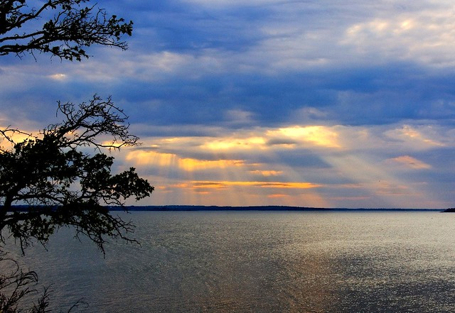 Grapevine Lake Sunset - #0412