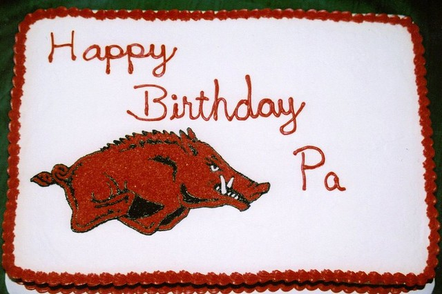 Arkansas Razorback Cake Pan