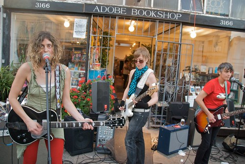 Excuses for Skipping playing in front of Adobe Books during Dyke March