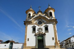 building, cathedral, monastery, landmark, steeple, bell tower, place of worship, facade, church, tower, chapel,