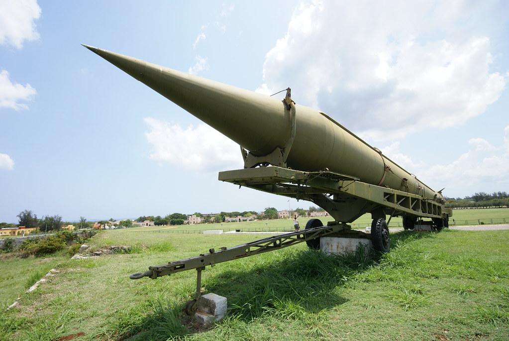 Cuban Missile Crisis, Havana Weapons Exposition: R-12 MRBM.