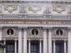 Beethoven, Mozart and Spontini busts - Opera Garnier - Palais Garnier