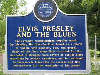 Birthplace of Elvis Presley -  Tupelo Mississippi.