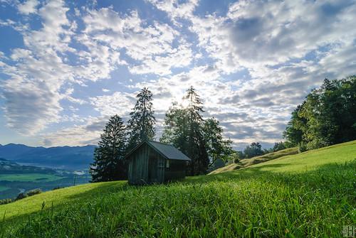 morning backlight sunrise landscape geotagged austria cloudy vorarlberg walgau frastanz bodenwald fellengatter geo:lat=4721721738 geo:lon=960371717
