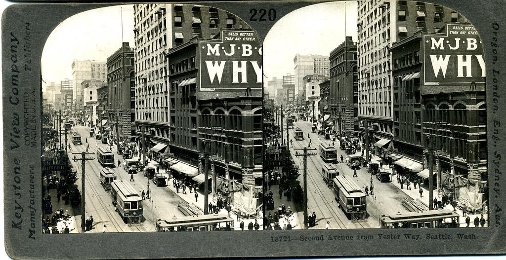 Seattle, Washington c 1910