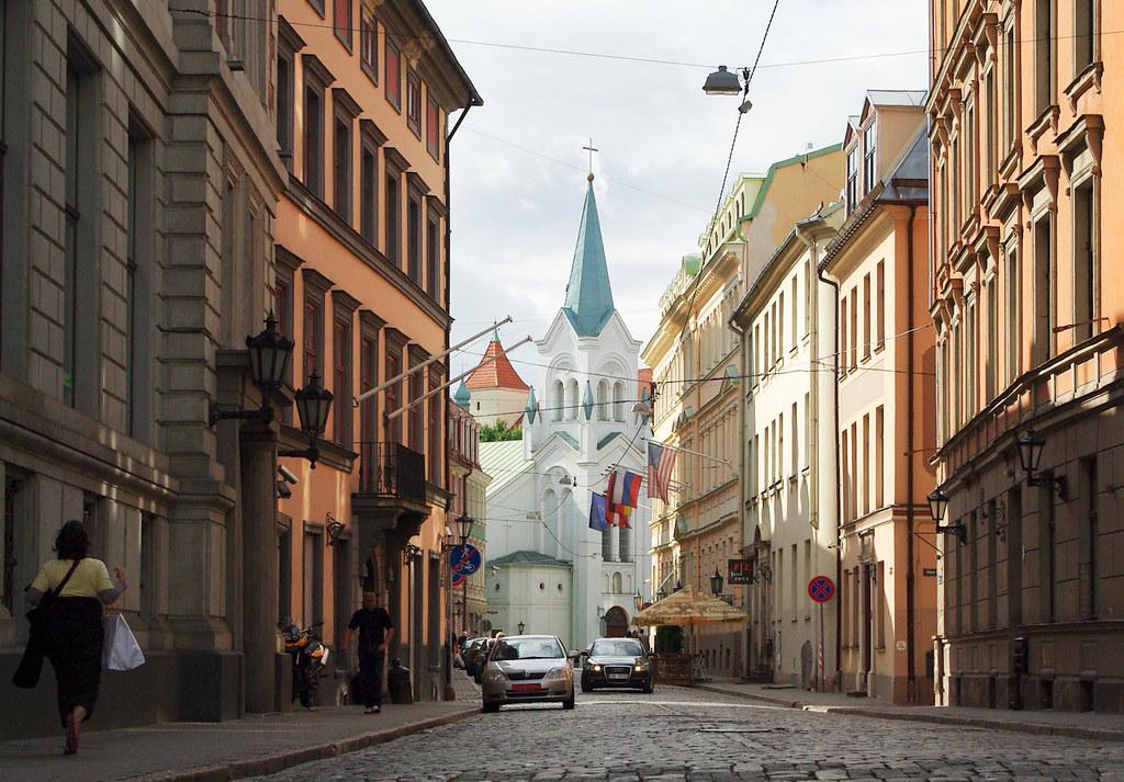 Riga's old town/Rygos senamiestis