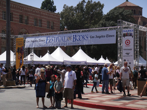 LA Times Festival of Books 2010 entrance