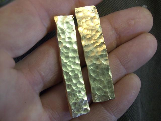 Black Opal Pendant / Peined Ingots / WIP / 2
