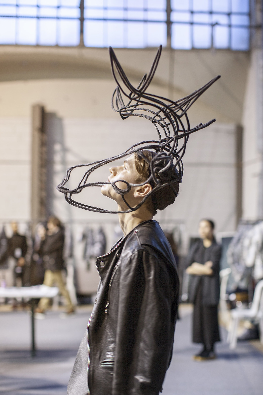 thom browne fall winter 2014 2015 backstage
