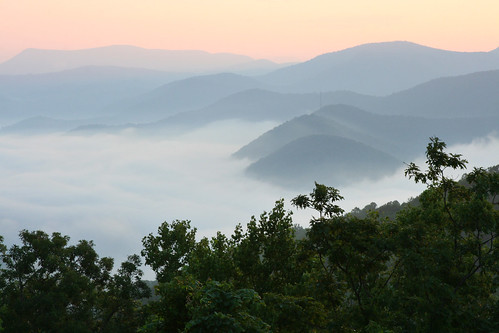 statepark sunrise georgia landscape photo blackrockmountain