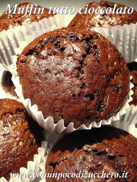 Muffin tutto cioccolato