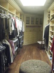 luxury walk-in closet photo