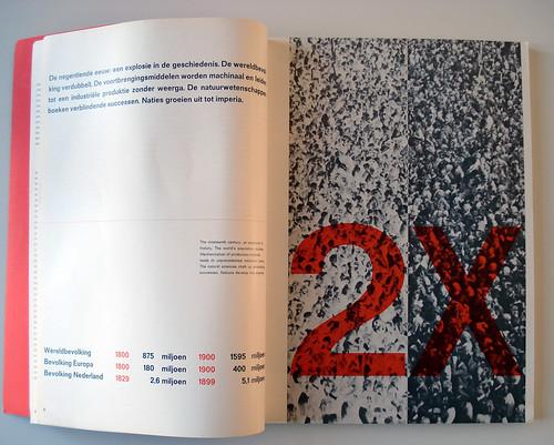 Kerstnummer Drukkersweekblad en Autolijn / Wim Crouwel