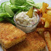 bailey's tofish with tartar sauce