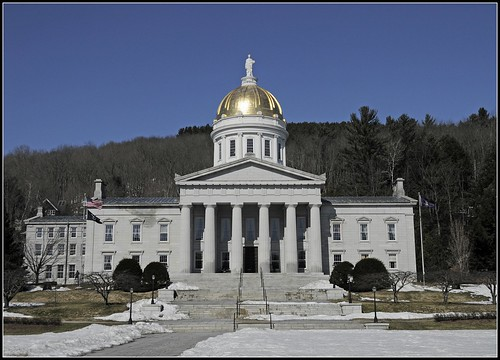 Vermont Statehouse (Credit: Tony Fischer Photography on Flickr.com)