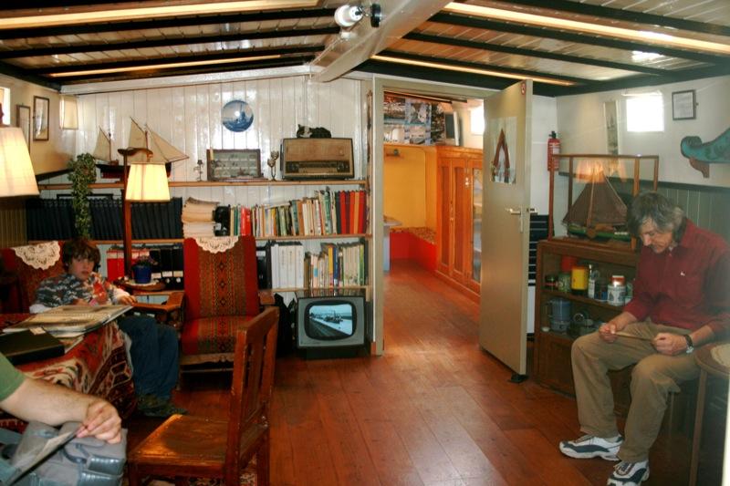 Amsterdam Houseboat (Bot ev) Müzesi