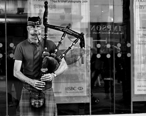 Scottish Singer B/W