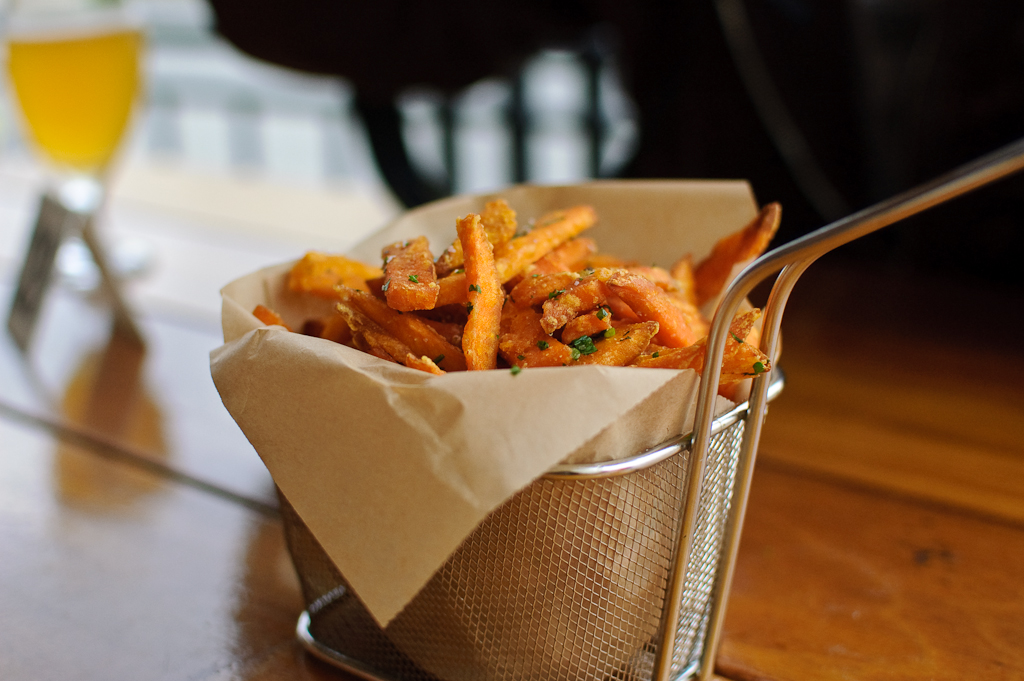 Delicious sweet potato fries