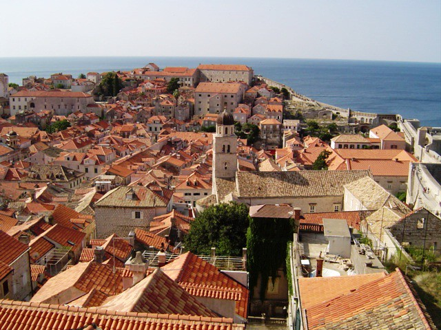 Dubrovnic rooftops
