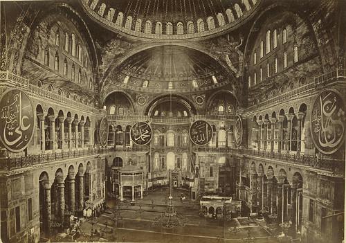 Interior, Saint Sophia (Hagia Sofia)