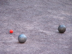 boules, pã©tanque, lawn game, sand, sphere, sports, ball,