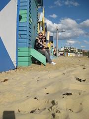 Beach huts of brighton