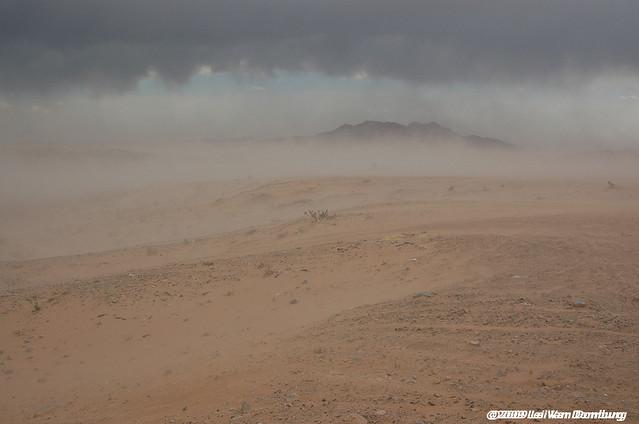 Sand Storm at Las Vegas Dunes