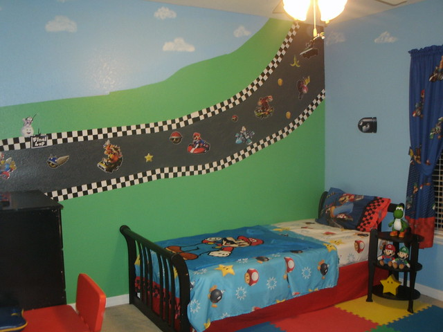 super mario bedroom flickr photo sharing