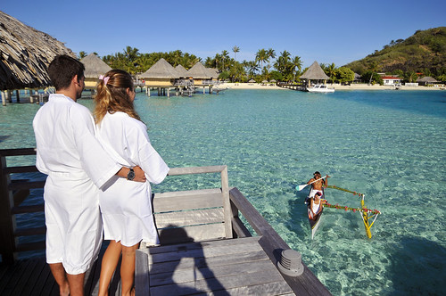 InterContinental Bora Bora  Le Moana Resort breakfast delivery