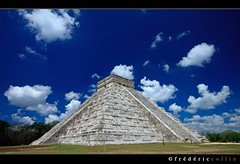Chichen Itza Pyramid in Yucatan, Mexico
