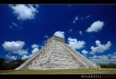 Chichen Itza Pyramid in Yucatan, Mexico