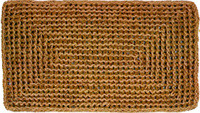 A Large Selection Coir (Cocoa) Mats, Personalized or Plain