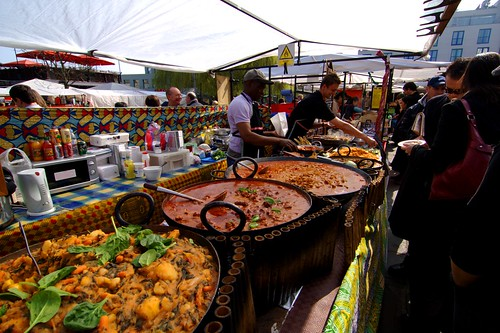 West-African Food Stall in Camden