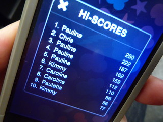 Parra Poppers Hi-Scores